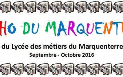 L'Echo du Marquenterre ; Septembre – Octobre 2016